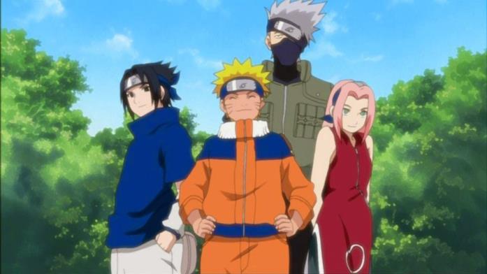 Naruto squadra 7