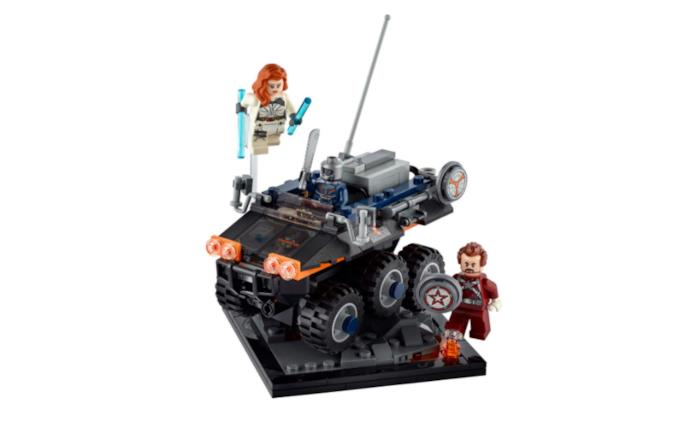 Black Widow, ecco il set LEGO Taskmaster's Ambush