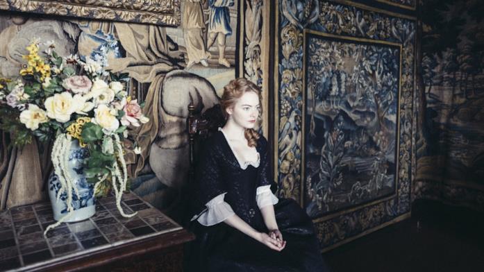 La Favorita, una scena con Emma Stone