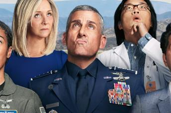 Steve Carell, protagonista di Space Force