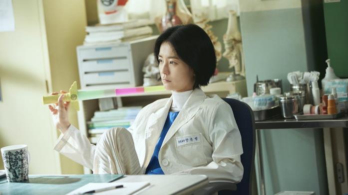 Primo piano di Jung Yu-mi