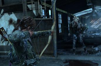 Una  scena di The Last of Us su PS4