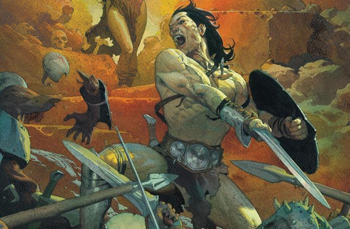 Cover di Conan The Barbarian #1