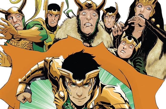 Dettaglio della cover di Loki: Agent of Asgard Vol. 2: I Cannot Tell A Lie