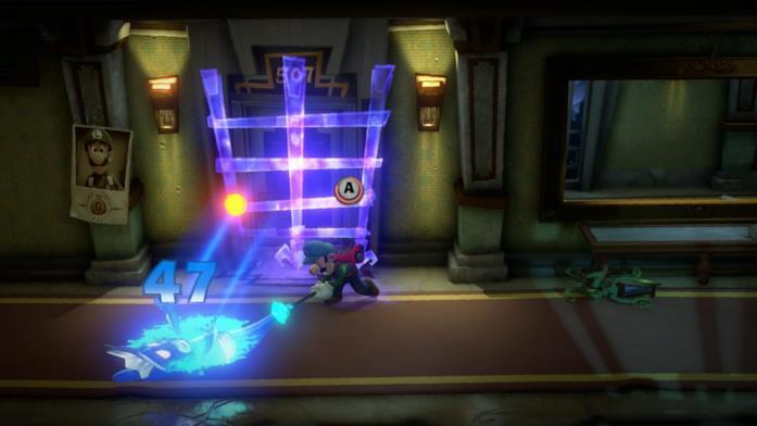 Luigi combattimento spettri