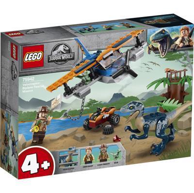 Blue protagonista di un set lego di Jurassic World