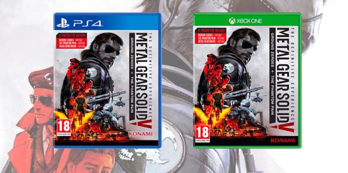 La boxart di Metal Gear Solid V: The Definitive Experience