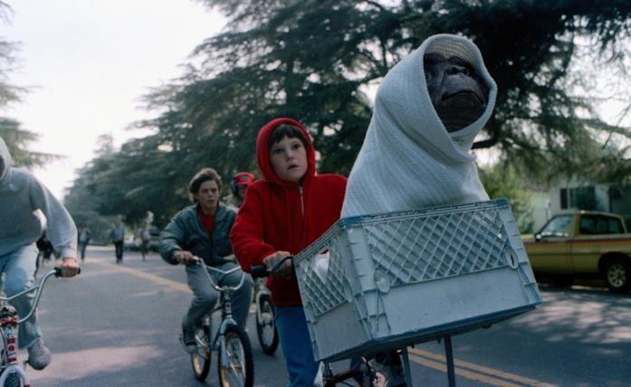 E.T. è tra i film più famosi di Spielberg
