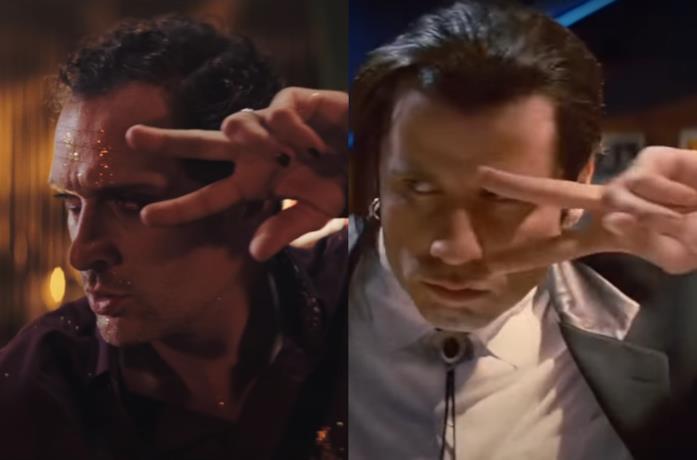 Claudio Santamaria E John Travolta  confronto