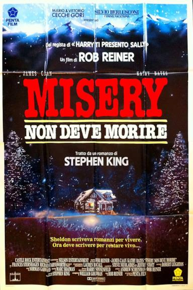 Poster Misery non deve morire