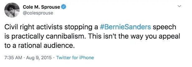"Il tweet ""anti-BLM"" dell'attore Cole Sprouse"