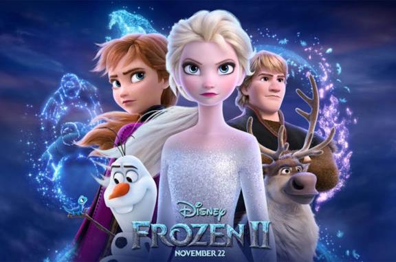 Poster del film Disney Frozen 2