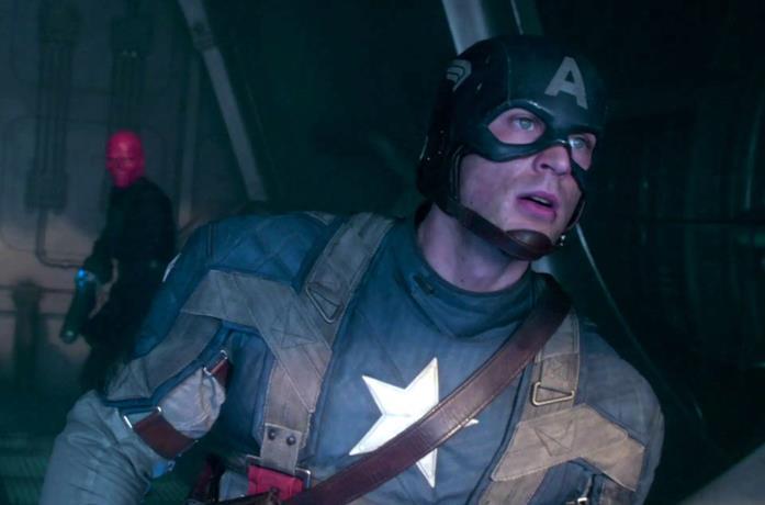 Captain America affronta Red Skull