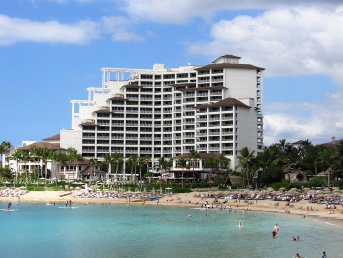 Uno scorcio dell'imponente resort utilizzato per girare alcune scene del film