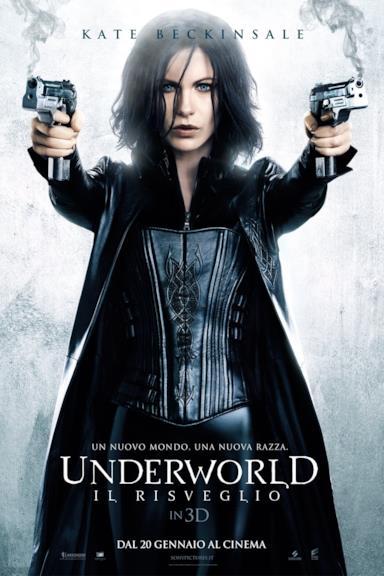 Poster Underworld - Il risveglio