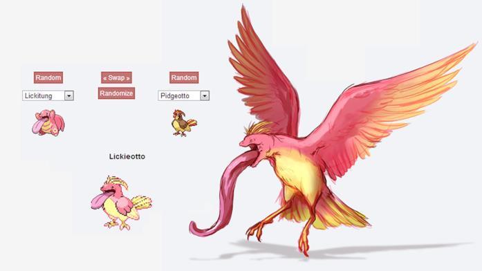 Una delle fusioni in Pokémon Fusion