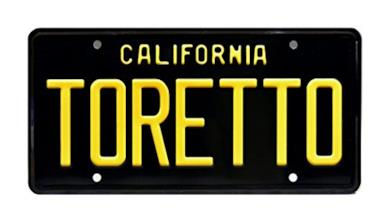 Celebrity Machines Fast And The Furious | Toretto | Metal Stamped License Plate