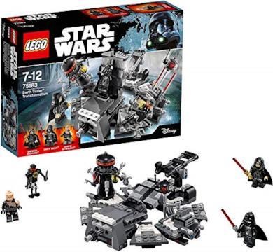 LEGO- Disney Princess La Trasformazione di Darth Vader, Multicolore, 75183
