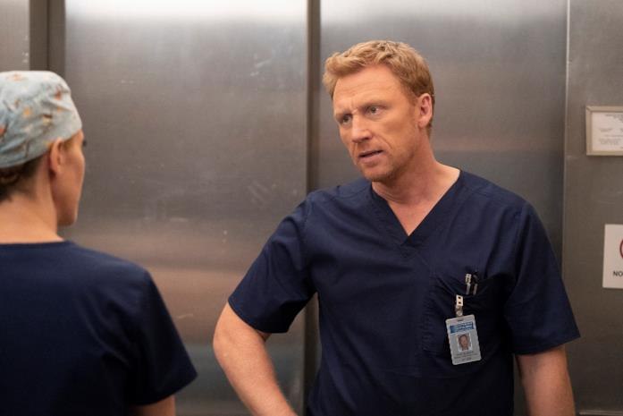 Kevin McKidd nei panni di Owen Hunt in Grey's Anatomy