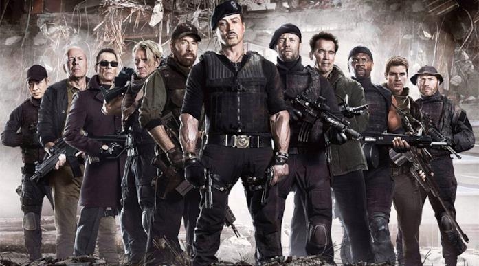 Il cast completo de I Mercenari