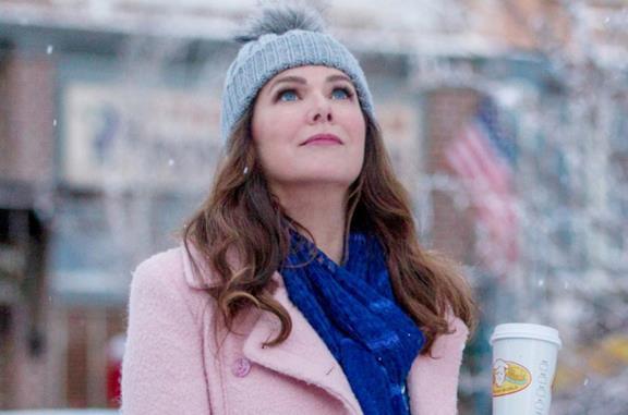 Lauren Graham sotto la neve