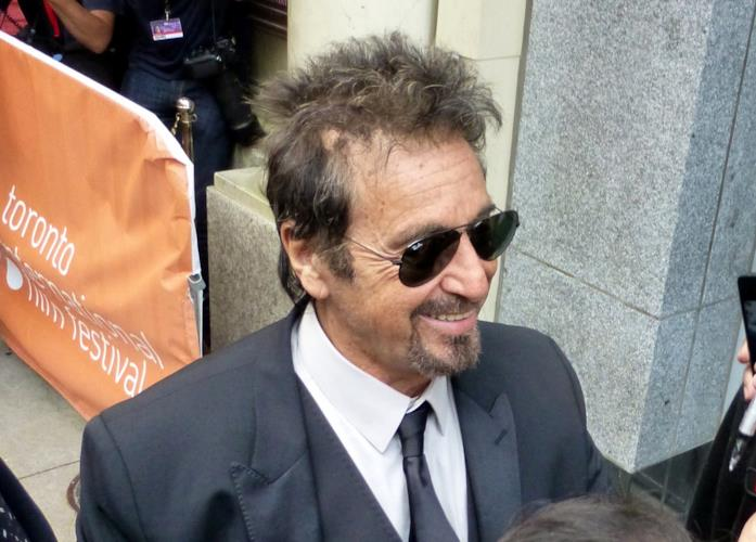 Al Pacino a un evento ufficiale
