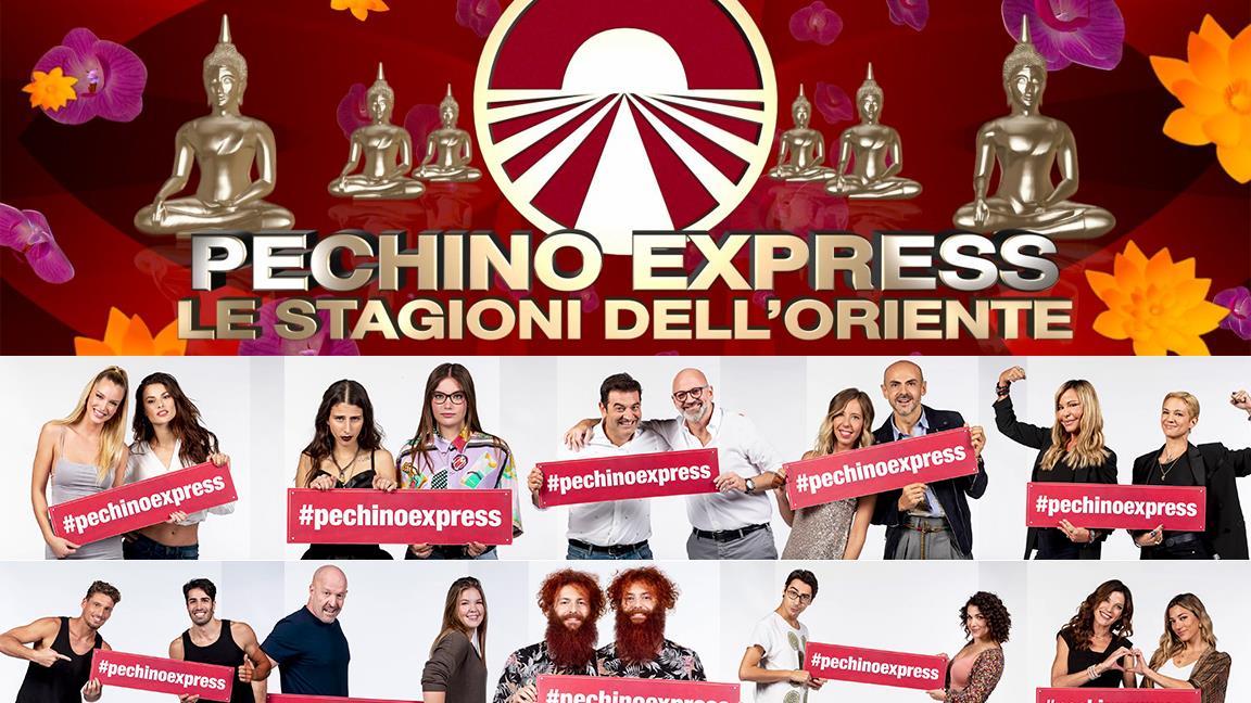 Pechino Express. Le Stagioni dell'Oriente: in arrivo su Rai 2 dall'11 febbraio