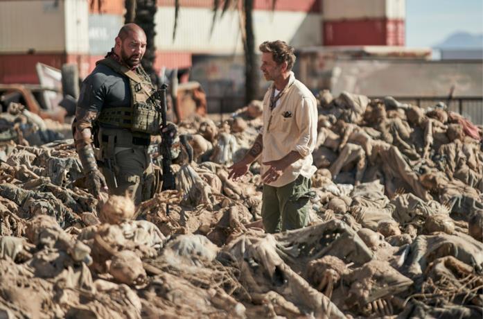 Dave Bautista e Zack Snyder tra gli scrambler