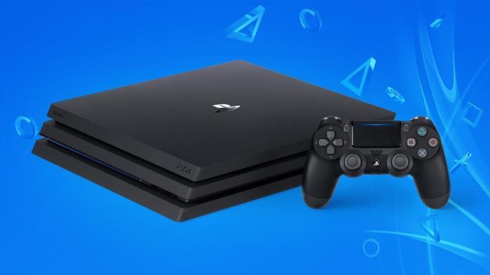 PlayStation 4 Pro in un'immagine promozionale