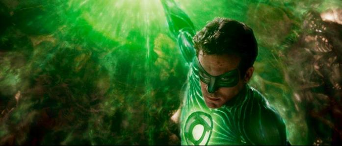 Ryan Reynolds come Hal Jordan in Lanterna Verde