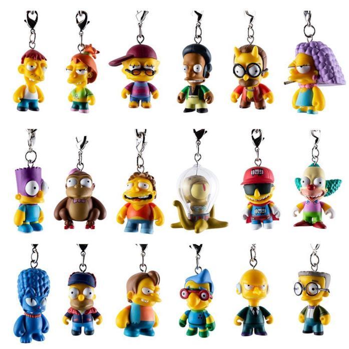 I 18 pezzi della collezione Crap-Tacular dei Simpson firmata Kidrobot