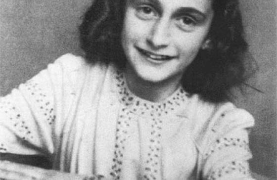 Primo piano di Anna Frank