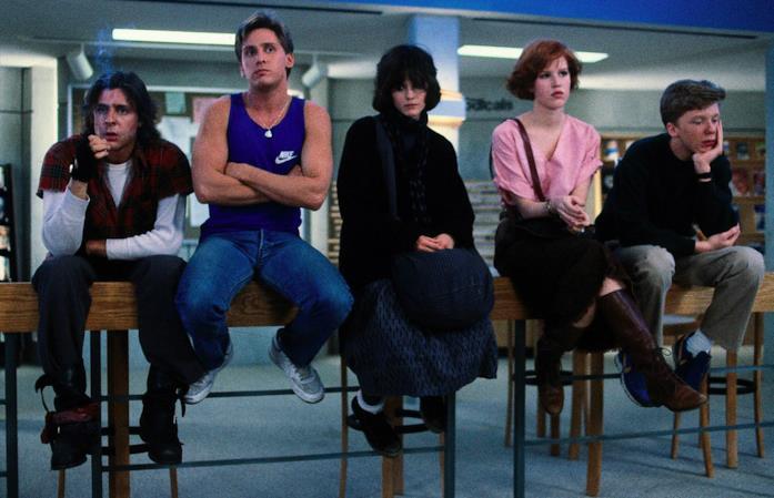 I protagonisti del film sono corretti a trascorrere la giornata in biblioteca