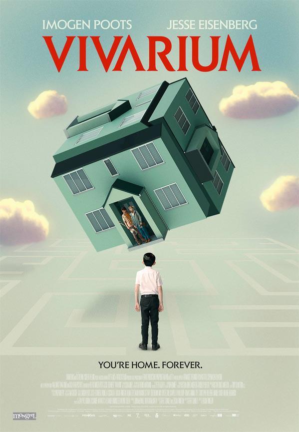 La locandina del film fantascientifico Vivarium