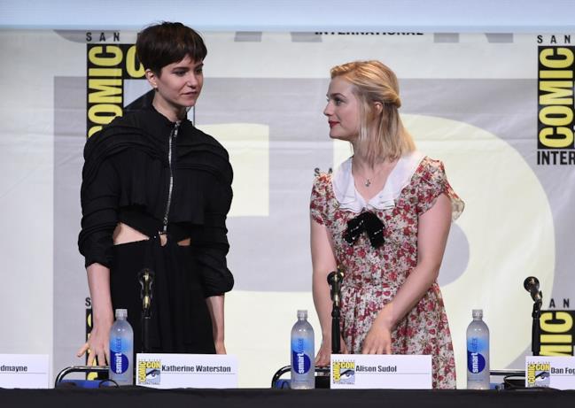 Katherine Waterston e Alison Sudol al Comic-Con di San Diego