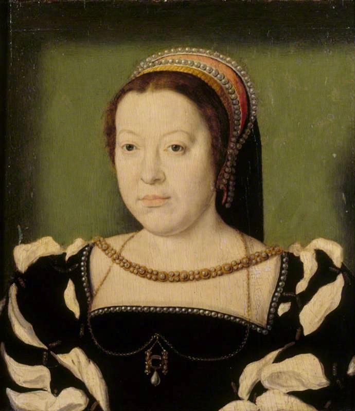 Caterina de' Medici in un dipinto