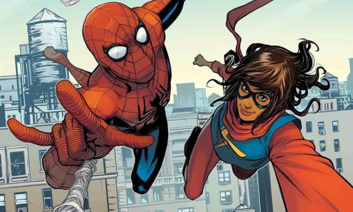 Spider-Man e Ms. Marvel