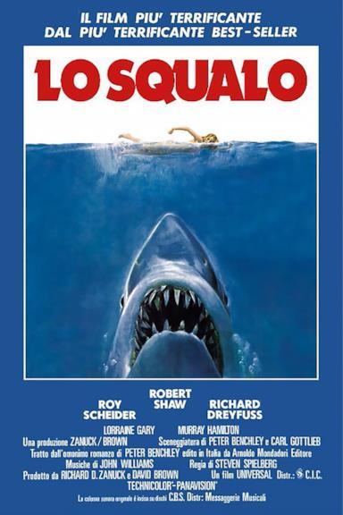 Poster Lo squalo