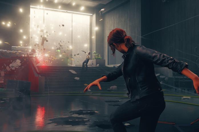 Un'immagine dal videogioco Control