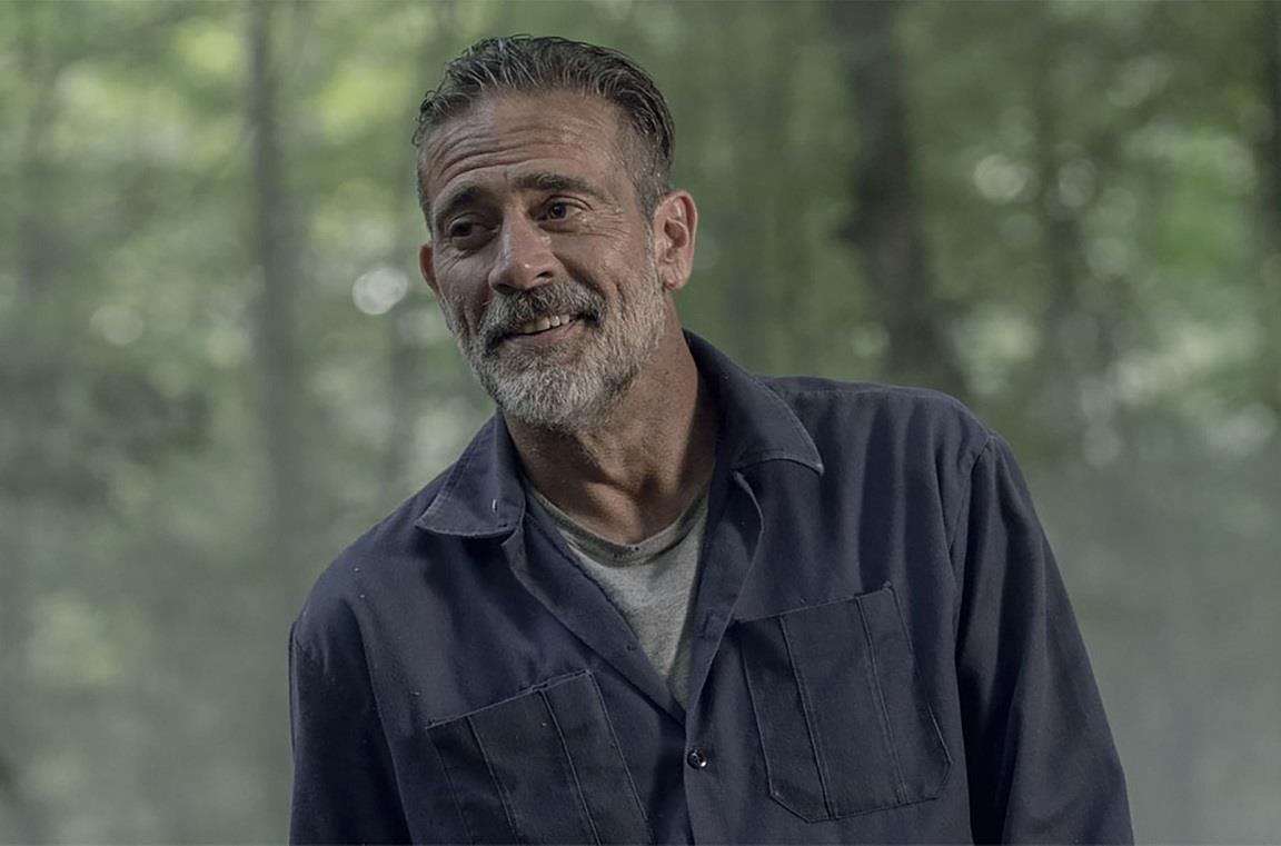 L'attore Jeffrey Dean Morgan è Negan in The Walking Dead