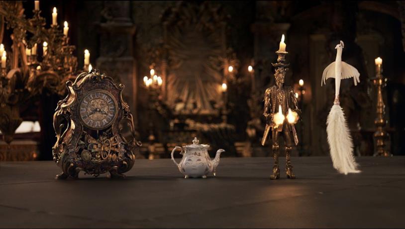La Bella e La Bestia, gli oggetti magici