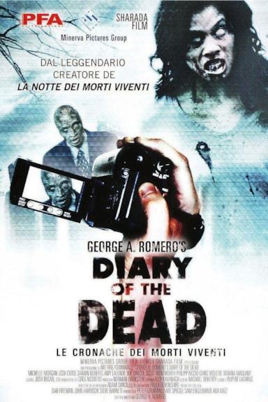 Poster Diary of the Dead - Le cronache dei morti viventi