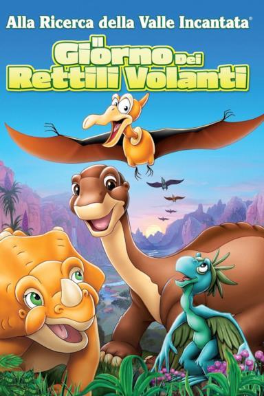 Poster Alla ricerca della valle incantata 12 - Il giorno dei rettili volanti