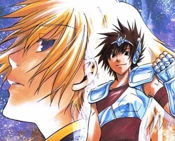 The Lost Canvas Manga
