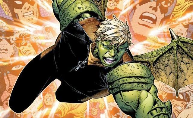 Dettaglio della cover di Young Avengers Presents #2 Hulkling