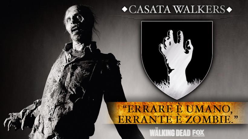 """Casata Walkers - """"Errare è umano, errante è zombie."""""""