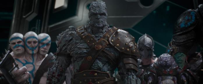 Taika Waititi interpreta Korg e Hajo in Thor: Ragnarok