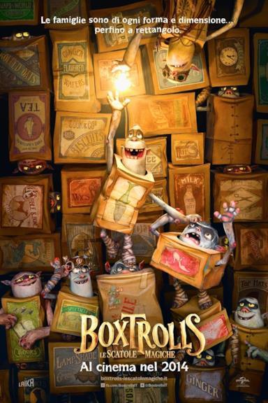 Poster Boxtrolls - Le scatole magiche