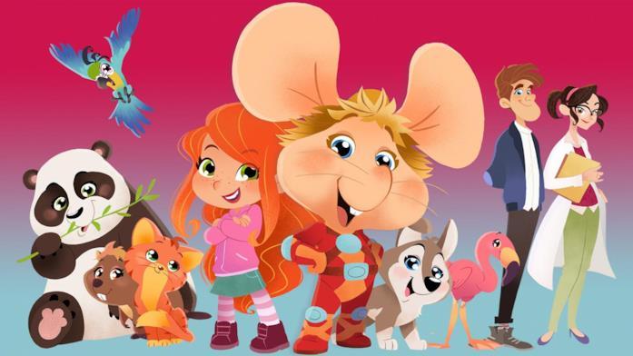 I personaggi della serie Topo Gigio