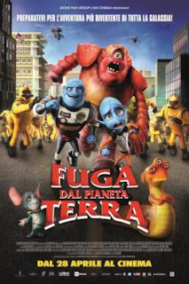 Poster Fuga dal pianeta Terra